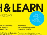 Lunch & Learn - Yellow Version
