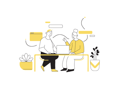 Ilustration – Develup illustration art ui characters illustration design illustration illustrator