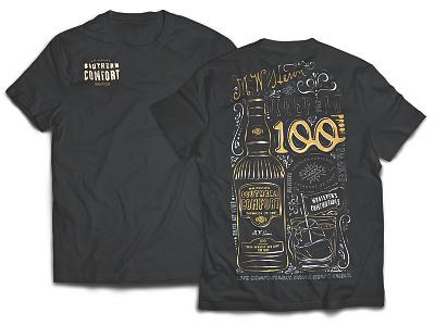 SoCo T-shirt Illustration graphic design illustration design graphic logo whiskey southern comfort