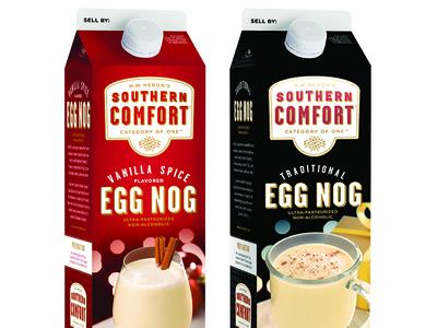 SoCo Eggnog Carton Redesign