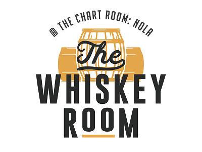 The Whiskey Room nola art illustration logo graphic design design graphic