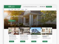 Homepage Exploration - GVD Renovations
