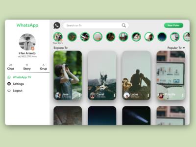 WhatsApp Tv Web | Unofficial