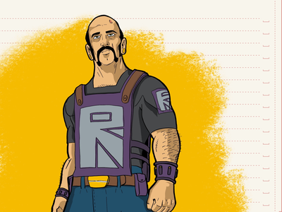 Alienox character