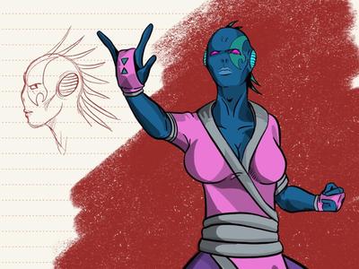 Alieno Character