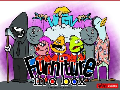 Furniture in a box web splash page