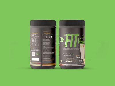 dribble fit label & 3Ds Render sports logo graphicdesign design packaging branding