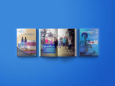 Catálogo Digital de Productos SYNERGYO2 magazine graphicdesign branding brand design