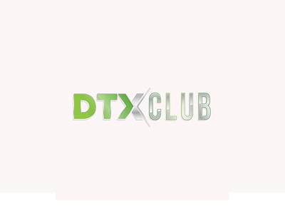 DTXCLUB Logotipo logotype typography graphicdesign logo brand design branding