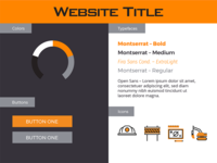 Web Style – Orange Construction