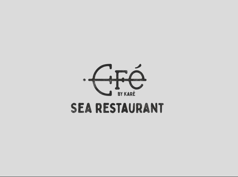 Efé - restaurant logo monogram monogram logo design logo