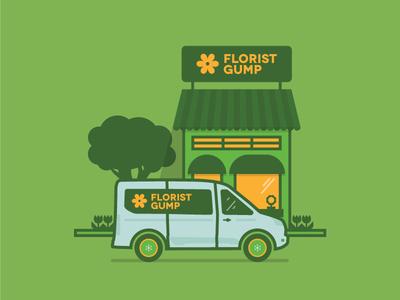 Florist Gump // Ford Transit