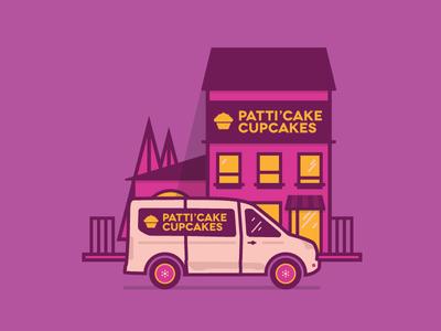 Patti'Cake Cupcakes // Ford Transit