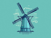 De Riekermolen / Amsterdam