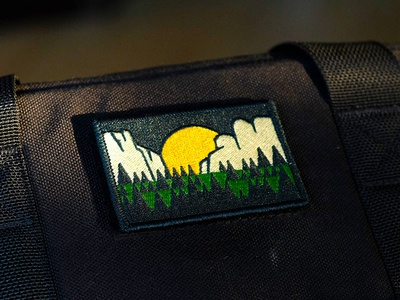 Yosemite   Embroidery Patch