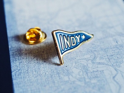 """Indianapolis """"Indy"""" Pennant 