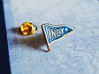 "Indianapolis ""Indy"" Pennant 