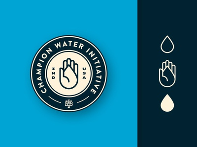 Champion Water | Badge