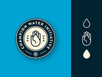 Champion Water | Badge
