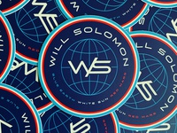 Will Solomon   Sticker