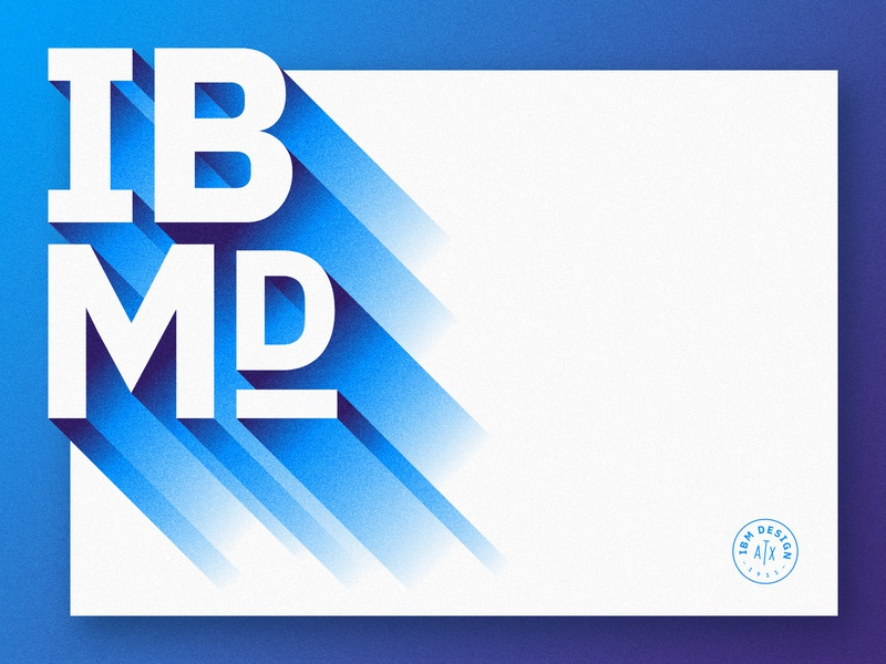 IBMd by ampersandrew for IBM on Dribbble