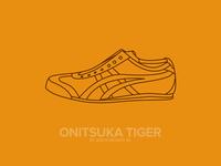 Asics Tiger Illustration