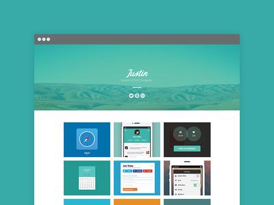 Portfolio Site - WIP