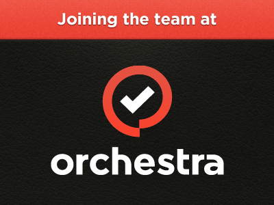 I'm happy to announce that I'm... job orchestra announcement