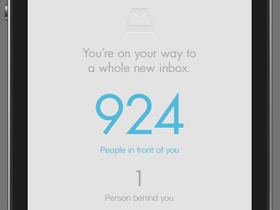 Reserve Your Mailbox mailbox email iphone ios mail reservation launch