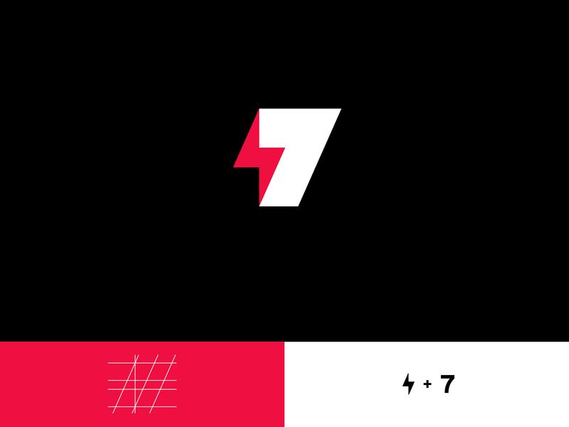 7+élec brand brand identity ui creativity vector logo designer logo mark illustrator branding creative logo design logo design