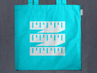 Ruler Tote Bag Mockup for Client