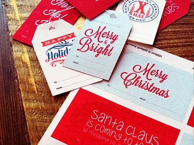 Holiday Gift Tags christmas holiday holiday gift tags print template christmas tree gift