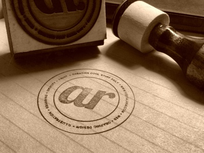 Creating Cool Stuff Daily Rubber Stamp