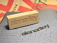 Alana Helvetica Stamp