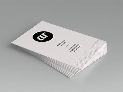 Letterpress Card mockup branding identity letterpress business card print paper ink mamas sauce black and white