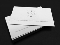 Brady Letterpress Card