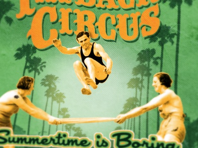 Fatback Circus - Summertime is Boring 2012 package design album artwork fatback circus