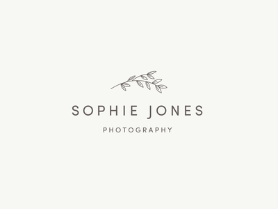 Photography Logo illustration logo flowers branding