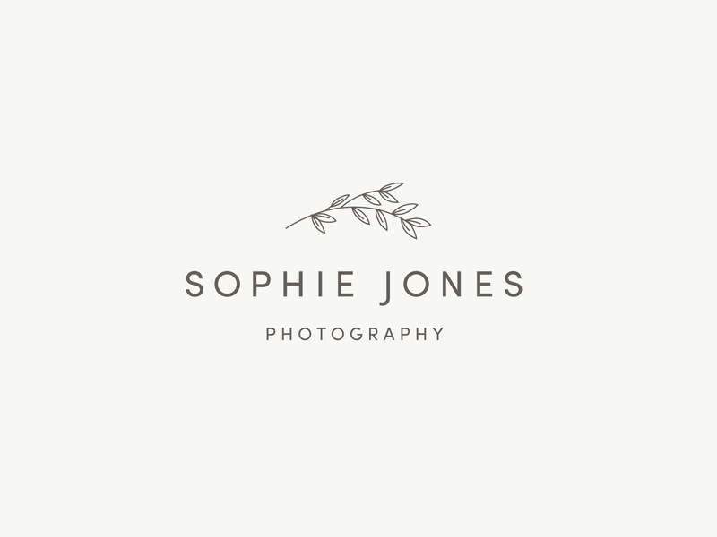 Photography Logo illustration logo flowers branding