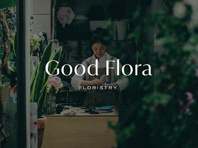 Florist Brand logo branding