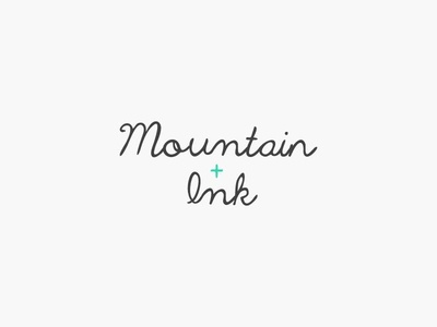 Mountain & Ink | Concept 02