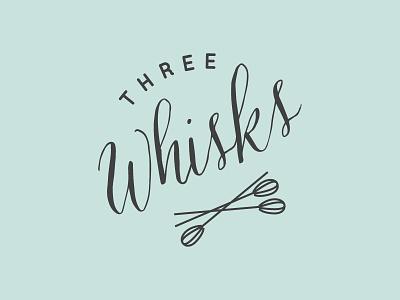 Three Whisks Branding branding logo