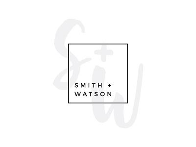 S + W branding logo