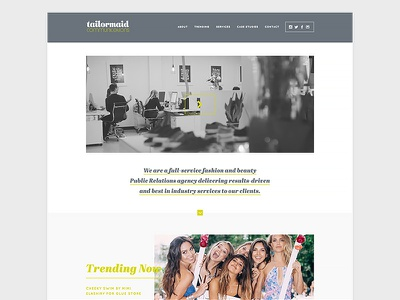 Website Design - PR design web