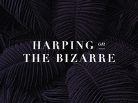 Harping On the Bizarre - Logo Design