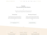 Idyllic Creative Website Design