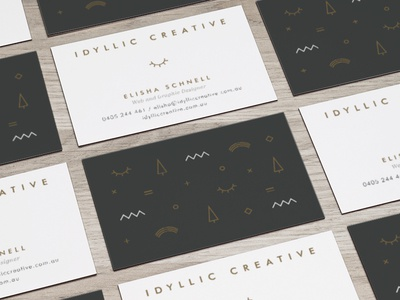 Business Cards  stationery branding business card