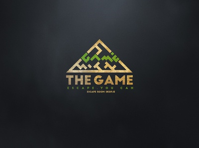 """The Game"" escape room game in Skopje, Macedonia."