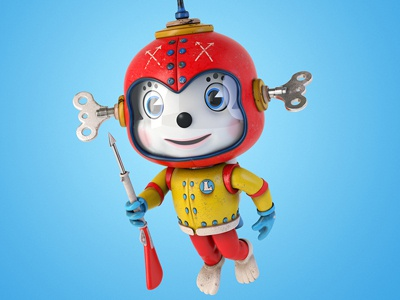 Tin Legends - Scuba Hero tin legend scuba hero cartoon character