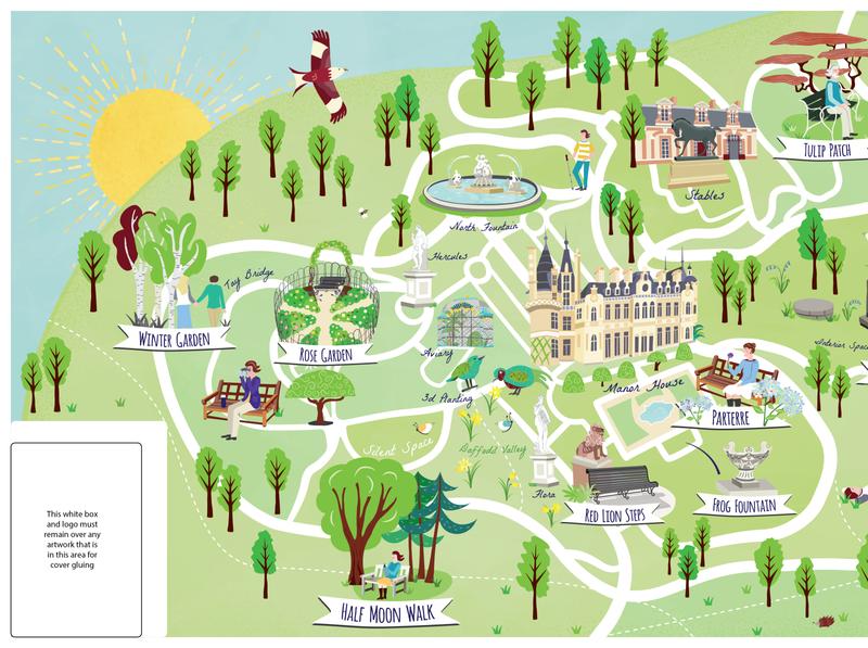 Waddesdon Manor NT Visitor Mindfulness Map